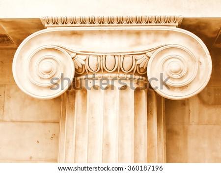 ancient greece ionic capital...