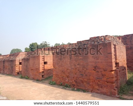 ancient nalanda university ( historical place)