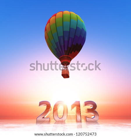 20013 and Hot-air balloon