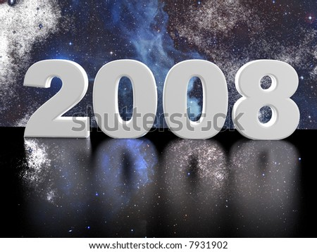 2008 and star background #7931902