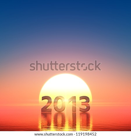 2013 and sun rise
