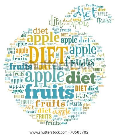 apple of words