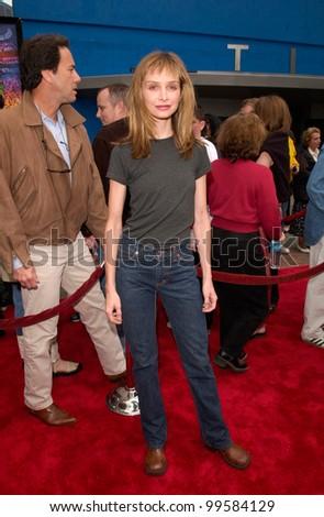 15APR2000: Actress CALISTA FLOCKHART at the world premiere, at Universal City, of The Flintstones in Viva Rock Vegas.