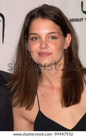 stock photo  apr dawson s creek star katie holmes at the gay amp lesbian alliance against defamation 99447932 stock photo : 15APR2000: Dawson's Creek star KATIE HOLMES at the Gay & ...