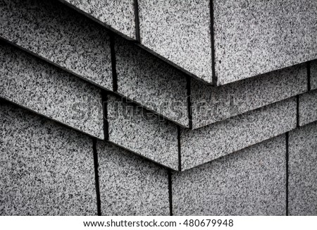 Architecture. Building Design Architecture. Modern office building. architecture detail. design and pattern. architecture with stone. building close up. detail of architecture. art with line minimal.
