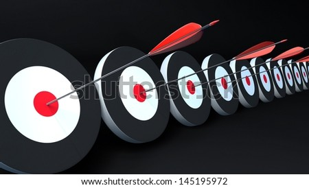 arrows and targets. That is the meaning of success. #145195972
