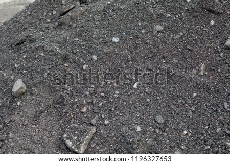 asphalt raw material, raw material for roadway #1196327653