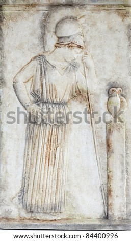 Athena godness (copy from the Acropolis museum)