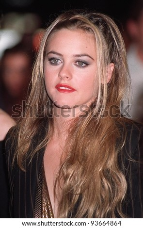 "25AUG97: Actress ALICIA SILVERSTONE at premiere of her new movie, ""Excess Baggage,"" which she also co-produced."