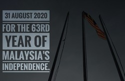 31 august 2020 of the 63rd year of malaysia's independence.