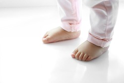 Baby's foot.