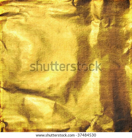 Background from a gold foil.