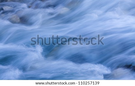 background of Storm stream water