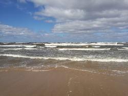 Baltic sea Latvia