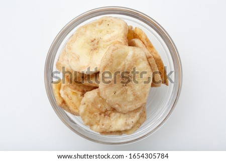 Banana chips from the Philippines