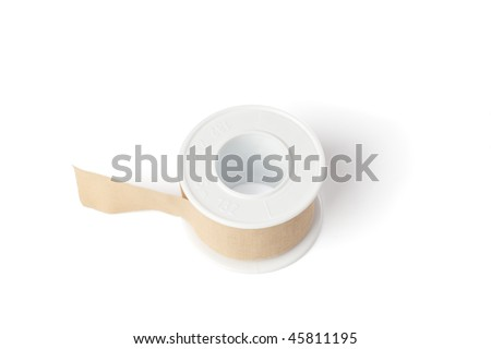 band aid on white background