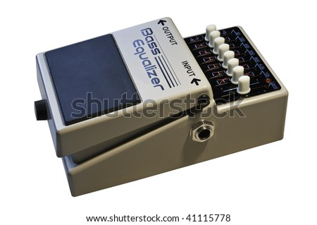 7-band equalizer pedal