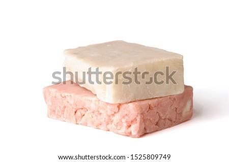 2 bars of handmade soap