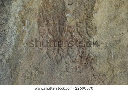 10 000 BC petrographs in Gobustan,Azerbaijan