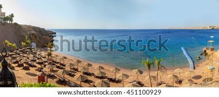 Beach Egypt, Sharm El Sheikh. #451100929