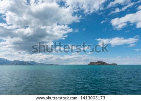 Beautiful Akdamar Island. Van lake Turkey.  #1413003173