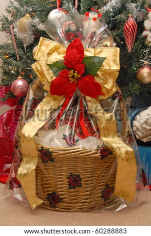 Beautiful Christmas Gift Basket