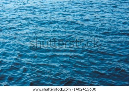 Beautiful, gentle blue sea background #1402415600