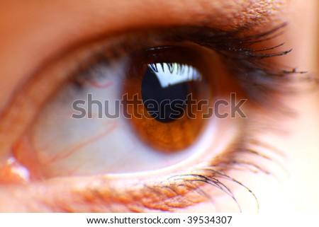 beautiful hazel eye
