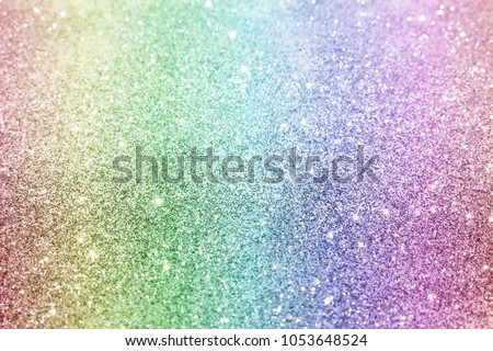 beautiful multi-colored background with white bokeh and glare #1053648524