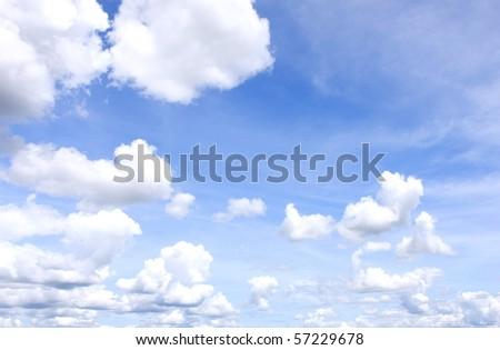 ฺBeautiful Sky - stock photo