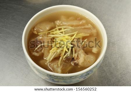 �Beef organ soup- A Popular Taiwan food