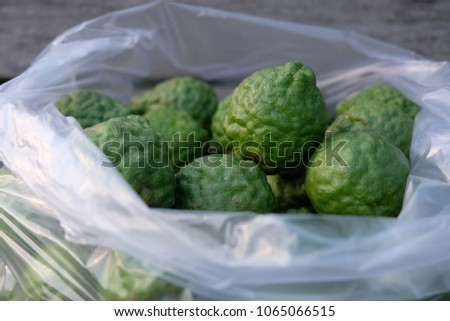 Bergamot is a kind of sour, sour taste, sour taste, instead of lemon, The dark green skin resembling lime rugged skin, Soft fruit is green, Properties as a heart tonic.
