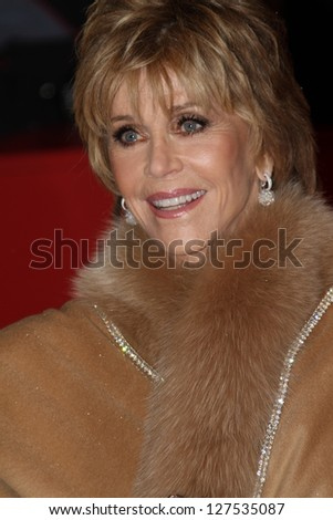 BERLIN, GERMANY - FEBRUARY 07: Jane Fonda attends the opening party of the 63rd Berlinale International Film Festival at The Berlinale Palace on February 7, 2013 in Berlin, Germany