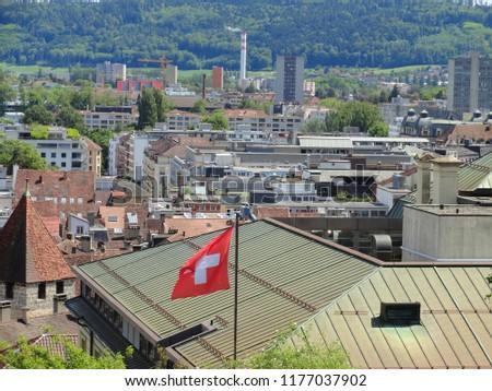 Biel Switzerland View , Bienne                #1177037902
