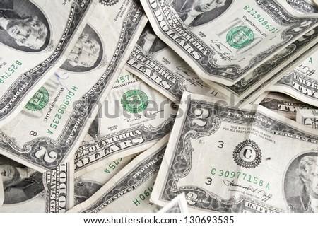 $2 bill - stock photo