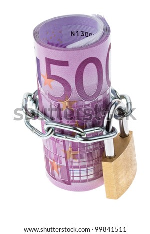 �¢â���¬ 500 bill complete with a chain