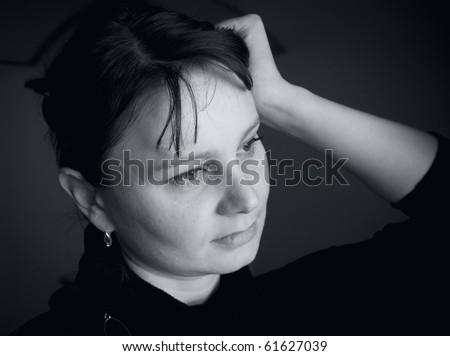 """Black and white portraits"" series"