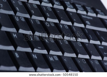 Black keyboard (shallow DOF) #50548150