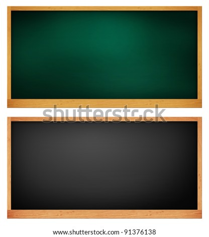 blank blackboard. background template for design work
