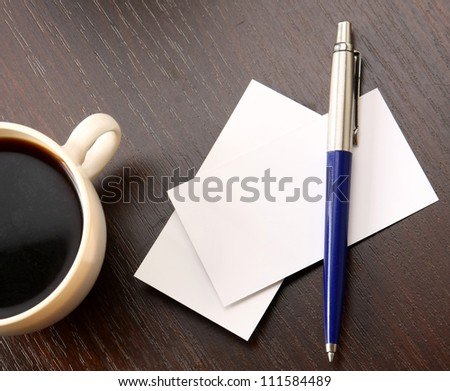 Blank Pad of Paper ready