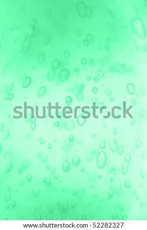 blue  bottle of shampoo isolated on  white - stock photo