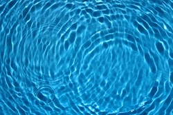 Blue Clean And Transparent Pool water