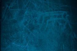 Blue  grain Textured wall - Old vintage grunge background