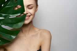 body, woman young smiling, spa