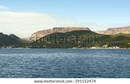 Bonne Bay, Gros Morne National Park, Newfoundland And Labrador, Canada