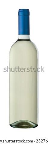 """Bordolese"" white wine clear bottle"