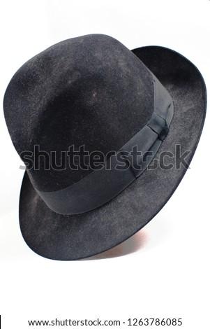 Borsalino style men's hat Stock photo ©
