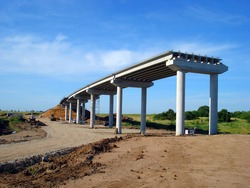 Bridge work in progress