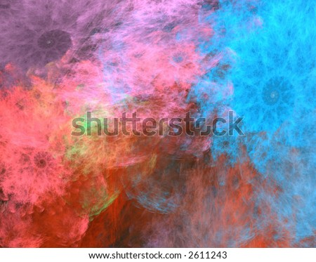 Bright Abstract formation page design illustration
