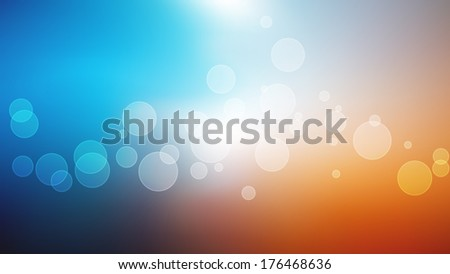 bright bokeh background Full HD resolution illustration with space for your text